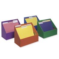 """Classroom Keepers Folder Holder, 9 5/8"""" Hx11 3/4""""Wx5 3/4""""D, Assortment"""