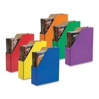 Classroom Keepser Magazine Holders, 6  Assorted Colors, (001327)