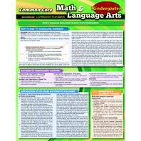 COMMON CORE GR K MATH & LANGUAGE