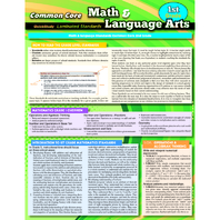 COMMON CORE GR 1 MATH & LANGUAGE