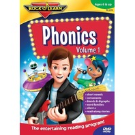 Phonics Volume 1: Rock 'N Learn