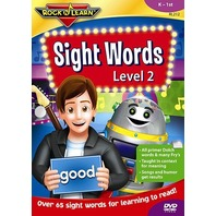 Sight Words DVD Vol 2