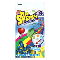 MR SKETCH SCENTED 4 COLOR CHISEL