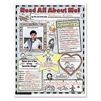 Instant Personal Poster Sets: Read All About Me!; Set of 30; no. SC-0439152852