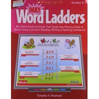 Interactive Whiteboard Activities: Daily Word Ladders (Gr. K-1): 80+ Word Study Activities That Target Key Phonics Skills to Boost Young Learners' ... Whiteboard Activities (Scholastic))