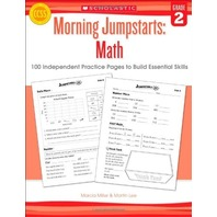 Morning Jumpstarts: Math (Grade 2): 100 Independent Practice Pages to Build Essential Skills