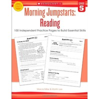 Morning Jumpstarts: Reading (Grade 5): 100 Independent Practice Pages to Build Essential Skills