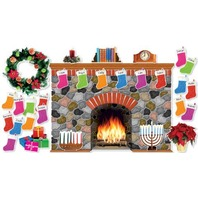 Holiday Hearth Bulletin Board (SC546913)