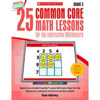 25 COMMON CORE GR 3 MATH LESSONS