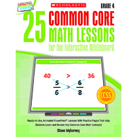 25 COMMON CORE GR 4 MATH LESSONS