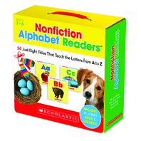 NONFICTION ALPHABET READERS PARENT