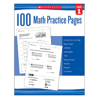 100 MATH PRACTICE PAGES GR 1