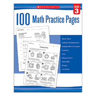 102 MATH PRACTICE PAGES GR 3