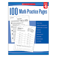 103 MATH PRACTICE PAGES GR 4