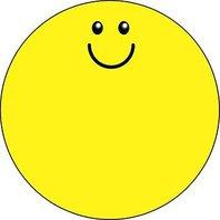 Shapes Etc. Se-176 Notepad Large Smile
