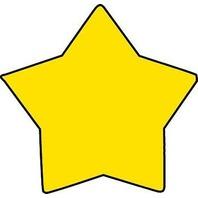 Shapes Etc. Se-714 Notepad Mini Star