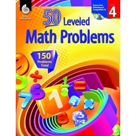 50 Leveled Math Problems Level 4 (50 Leveled Problems for the Mathematics Classroom)
