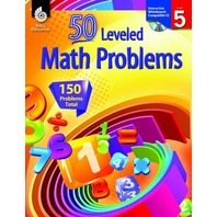 50 Leveled Math Problems Level 5 (50 Leveled Problems for the Mathematics Classroom)