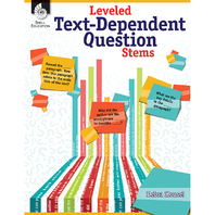 LEVELED TEXT DEPENDENT QUESTION