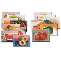 Fruits & Vegetables Poster Set of 14
