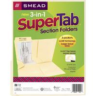 SMEAD 3 N 1 SUPERTAB SECTION MANILA