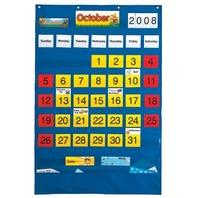 Calendar Pocket Chart - English/Spanish