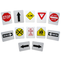 STYRENE STREET SIGNS
