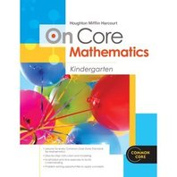 Houghton Mifflin Harcourt On Core Mathematics: Reseller Package Grade K
