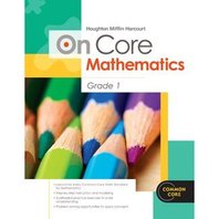 Houghton Mifflin Harcourt On Core Mathematics: Reseller Package Grade 1