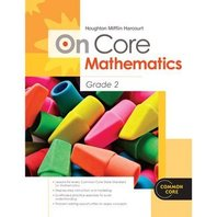 Houghton Mifflin Harcourt On Core Mathematics: Reseller Package Grade 2