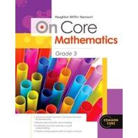 Houghton Mifflin Harcourt On Core Mathematics: Reseller Package Grade 3