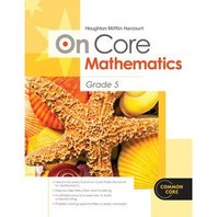 Houghton Mifflin Harcourt On Core Mathematics: Reseller Package Grade 5 (Hmh on Core Math)