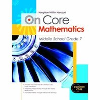 Houghton Mifflin Harcourt On Core Mathematics: Reseller Package Grade 7 (Hmh on Core Math)