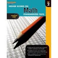 Higher Scores on Standardized Test for Math: Reproducible Grade 2 (Steck Vaughn)