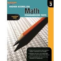 Higher Scores on Standardized Test for Math: Reproducible Grade 3 (Steck Vaughn)
