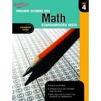 Higher Scores on Standardized Test for Math: Reproducible Grade 4 (Steck Vaughn)