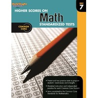 Higher Scores on Standardized Test for Math: Reproducible Grade 7 (Steck Vaughn)