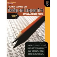 Higher Scores on Standardized Test for Reading & Language Arts: Reproducible Grade 3 (Steck Vaughn)