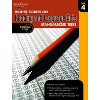 Higher Scores on Standardized Test for Reading & Language Arts: Reproducible Grade 4 (Steck Vaughn)