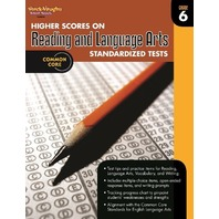 Higher Scores on Standardized Test for Reading & Language Arts: Reproducible Grade 6 (Steck Vaughn)
