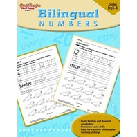 Steck-Vaughn Bilingual: Reproducible Numbers (Steck-Vaughn Bilingual Math)