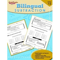 Steck-Vaughn Bilingual: Reproducible Subtraction (Steck-Vaughn Bilingual Math)