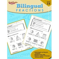 Steck-Vaughn Bilingual: Reproducible Fractions (Early Math 2005)