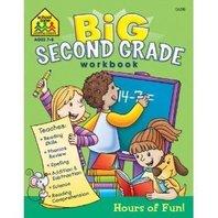 Big Second Grade Workbook; no. SZP06318