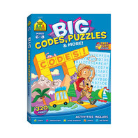 BIG WORKBOOK ALPHABET CODES PUZZLES