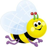 Classic Accents: Busy Bees; 36 Per Pack