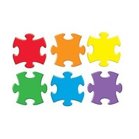 Classic Accents Variety Pack: Puzzle Pieces; 36 Per Pack