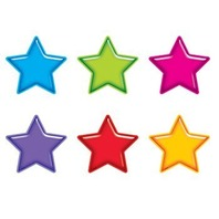Classic Accents Variety Pack: Gumdrop Stars; 36 Per Pack