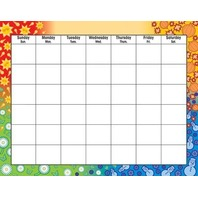 Wipe-Off Chart: Four Seasons Monthly Calendar; 22 x 28; no. T-1170