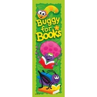 Bookmarks: Books & Bugs; 36 Per Pack